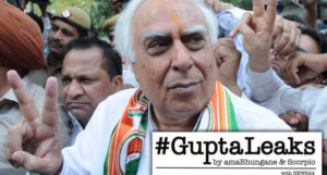 The Guptas chartered Cricket World Cup flights and bankrolled a luxury hotel stay for the family of Kapil Sibal.