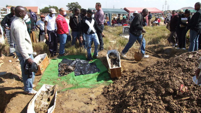 """""""Those graves were our title deeds"""""""