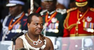 King Mswati is said to owe millions