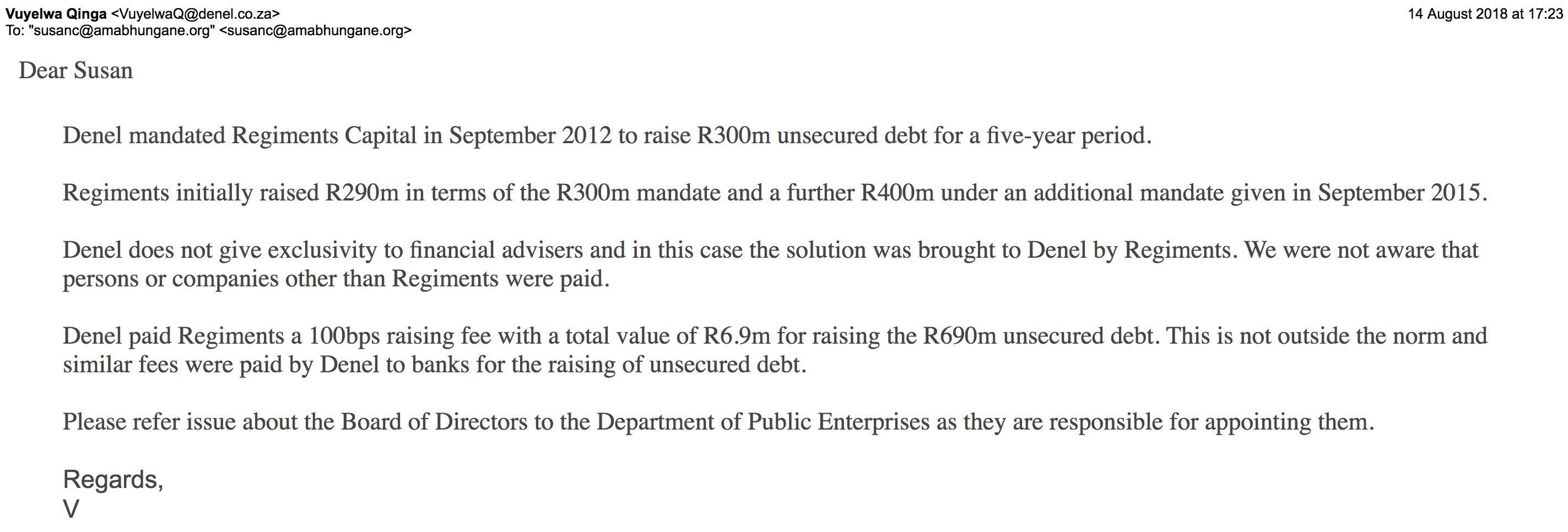 4. Gupta-owned company could be awarded social grants contract